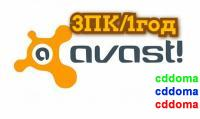 Avast Internet Security 3ПК / 1год